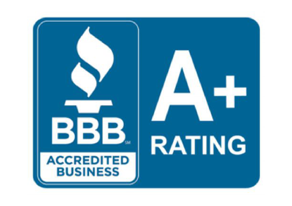 Better Business Bureau A+ accredited business rating